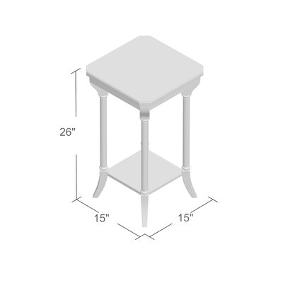 Grand Borendy End Table Color: Antique Cherry