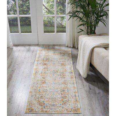 Devan Cream Area Rug Rug Size: Runner 23 x 710