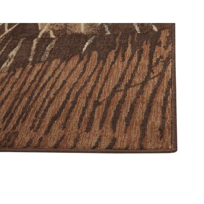 Borderlands Rust/Brown/Golds Area Rug Rug Size: 710 x 112