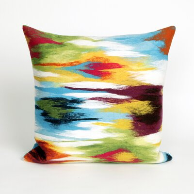 Belle Meade Ikat Splash Throw Pillow