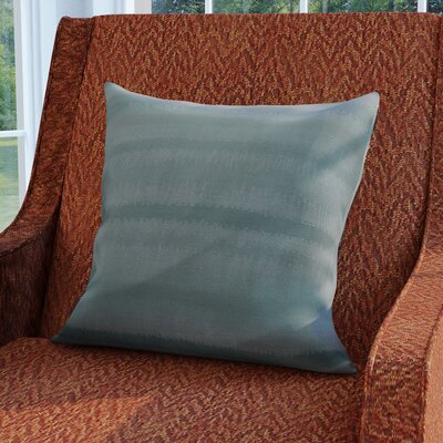 Dorazio Raya De Agua Throw Pillow Color: Light Blue, Size: 18 H x 18 W