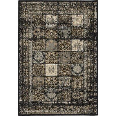Jaycob Black Area Rug Rug Size: 710 x 112