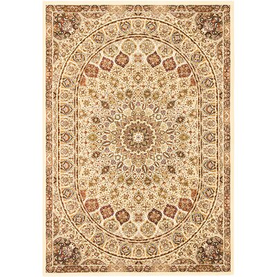 Casen Brown Area Rug Rug Size: 53 x 77