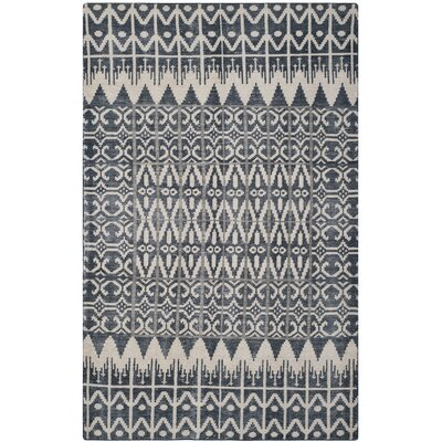 Gretta Charcoal Contemporary Area Rug Rug Size: Rectangle 5 x 8