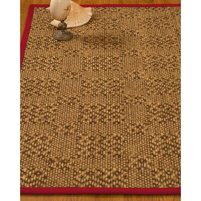 Camile Hand Woven Brown Area Rug Rug Size: Rectangle 6 X 9
