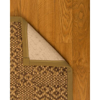 Camile Hand Woven Brown Area Rug Rug Size: Rectangle 4 X 6