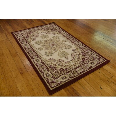 Anzac Cream Area Rug Rug Size: Rectangle 106 x 165