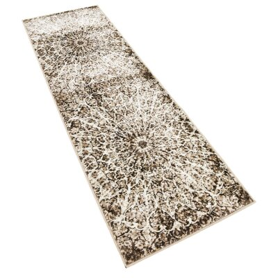 Keswick Brown Area Rug Rug Size: Runner 2 x 67