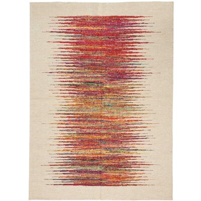 One-of-a-Kind Emmitt Hand-Woven Beige Indoor Area Rug
