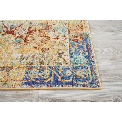 Devan Cream Indoor Area Rug Rug Size: Rectangle 2 x 511