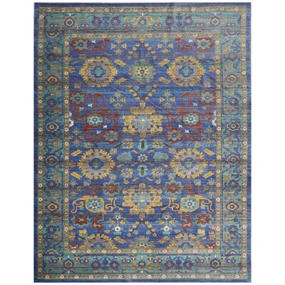 Devan Blue Indoor Area Rug Rug Size: Rectangle 710 x 106