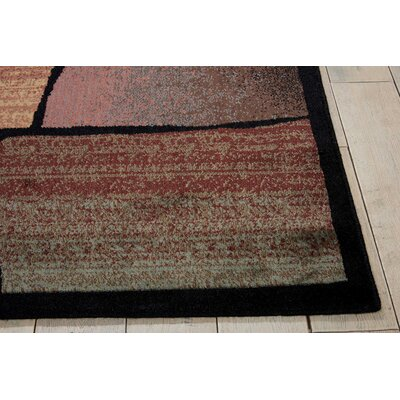 Pyrex Multicolor Area Rug Rug Size: Rectangle 36 x 56