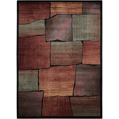 Meher Multicolor Area Rug Rug Size: Rectangle 53 x 75