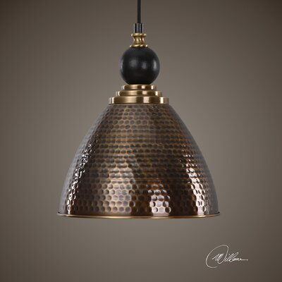 Lahjar 1-Light Bowl Pendant