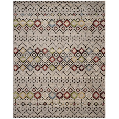 Hedley Light Gray Area Rug Rug Size: Rectangle 10 X 14