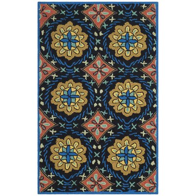 George Green/Blue Outdoor Area Rug Rug Size: Rectangle 24 x 4