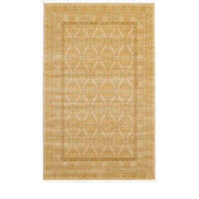 Fonciere Beige Area Rug Rug Size: Rectangle 5 x 8
