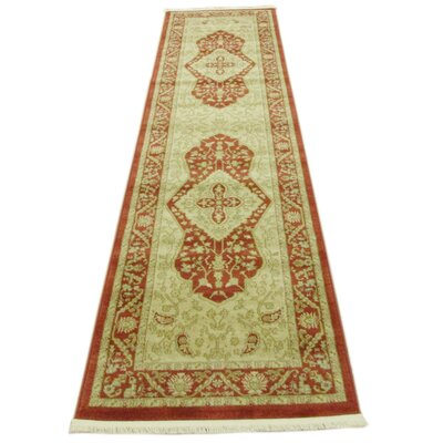 Willow Red Area Rug Rug Size: Rectangle 33 x 53