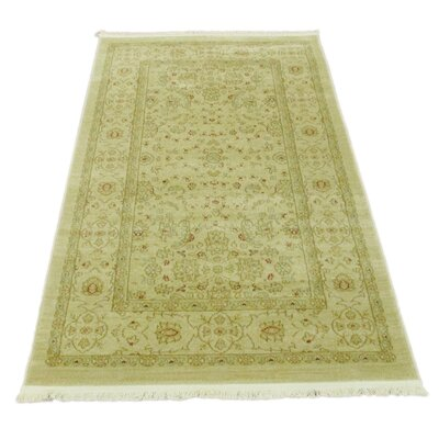 Willow Beige Area Rug Rug Size: Rectangle 33 x 53