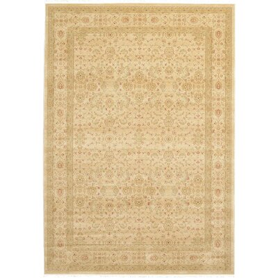 Willow Beige Area Rug Rug Size: Rectangle 7 x 10
