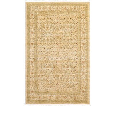 Willow Beige Area Rug Rug Size: Rectangle 5 x 8