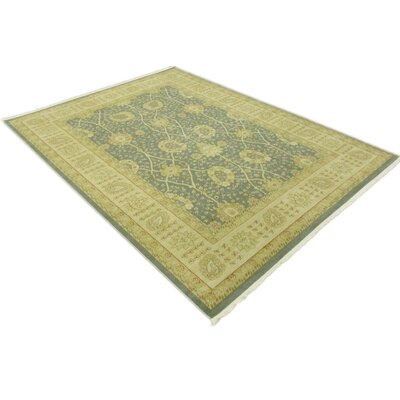 Fonciere Light Blue Area Rug Rug Size: Rectangle 106 x 165
