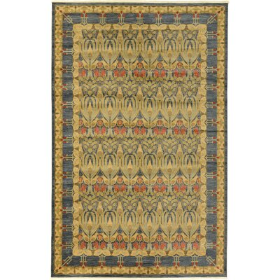 Fonciere Navy Blue Area Rug Rug Size: Rectangle 122 x 16