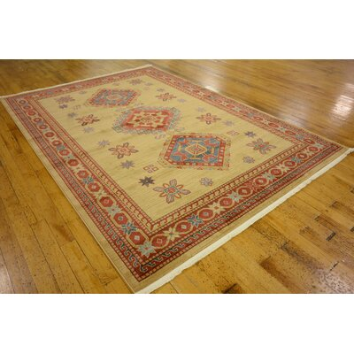 Valley Beige Area Rug Rug Size: Rectangle 7 x 10