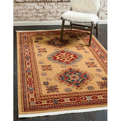 Valley Beige Area Rug Rug Size: Rectangle 122 x 16
