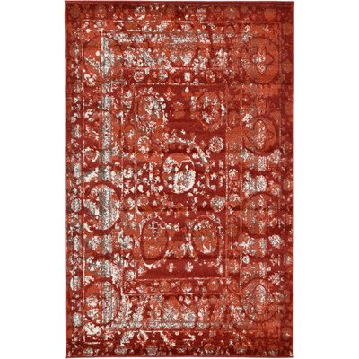 Kelaa Terracotta Area Rug Rug Size: Rectangle 3'3