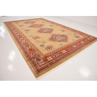 Valley Beige Area Rug Rug Size: Rectangle 106 x 165