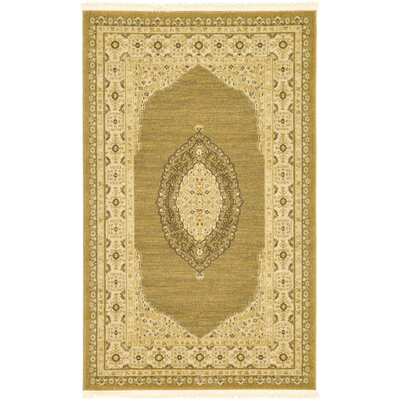 Fonciere Tan Area Rug Rug Size: Rectangle 5 x 8