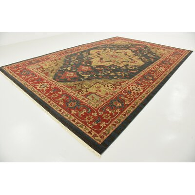 Valley Navy Blue Area Rug Rug Size: Rectangle 106 x 165