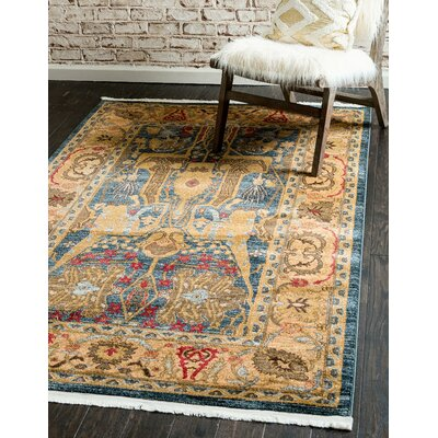 Lerma Brown Area Rug Rug Size: Runner 27 x 10