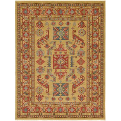 Valley Beige Area Rug Rug Size: Rectangle 9 x 12