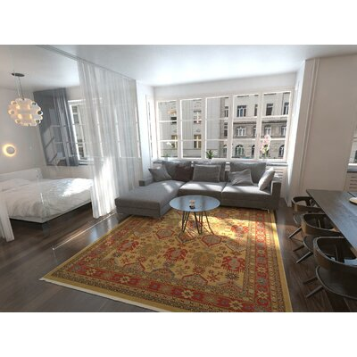 Valley Beige Area Rug Rug Size: Rectangle 5 x 8