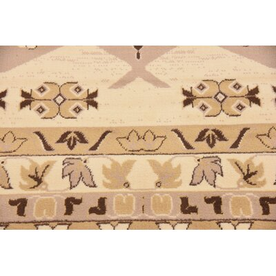Valley Ivory/Beige Area Rug Rug Size: Rectangle 6 x 9