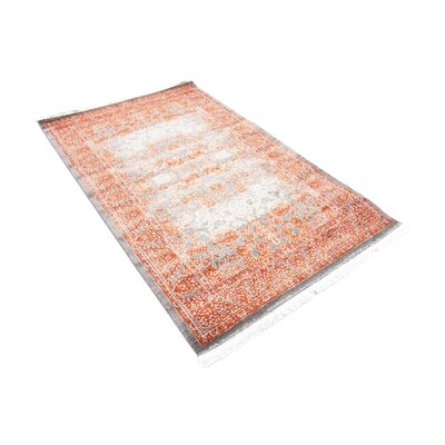 Colebrook Terracotta Area Rug Rug Size: Rectangle 8 x 11