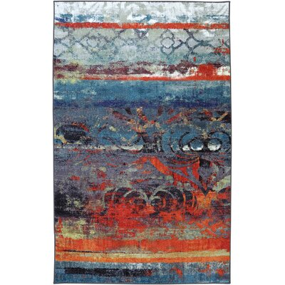 Vermont Blue Area Rug Rug Size: Rectangle 76 x 10