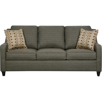 Simmons Upholstery Destin Solid Hide-A-Bed Sleeper Sofa Upholstery: Teal