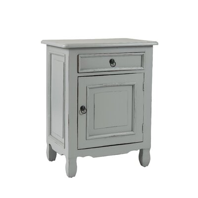 Abbad Nightstand Color: Light Grey