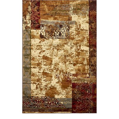 Apex Beige Area Rug Rug Size: Rectangle 5 x 8