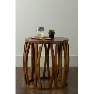 Abidi End Table Color: Natural