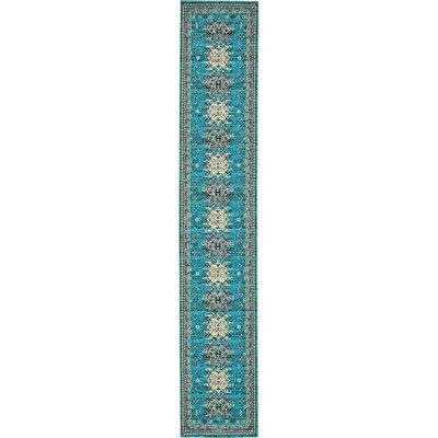 Sina Turquoise Area Rug Rug Size: Rectangle 3 x 165