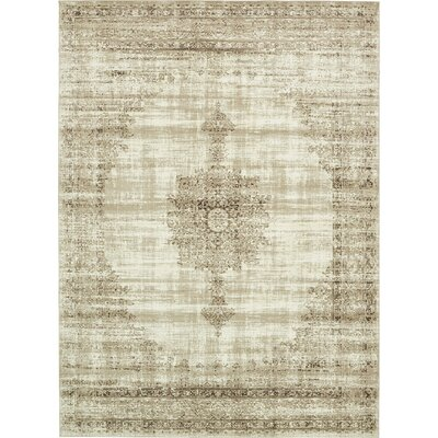 Miara Cream Area Rug Rug Size: Rectangle 3 x 10