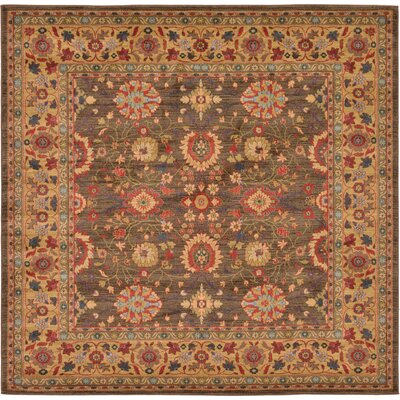 Fonciere Light Brown Area Rug Rug Size: Rectangle 8 x 114