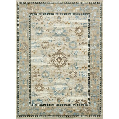 Miara Beige Area Rug Rug Size: Rectangle 5 x 8