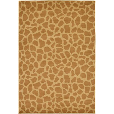 Leif Hand-Tufted Yellow Area Rug Rug Size: Rectangle 3 x 5