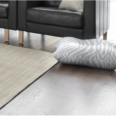 Nerbone Square Floor Pillow Size: 26 H x 26 W x 12.5 D, Color: Blue/ Ivory