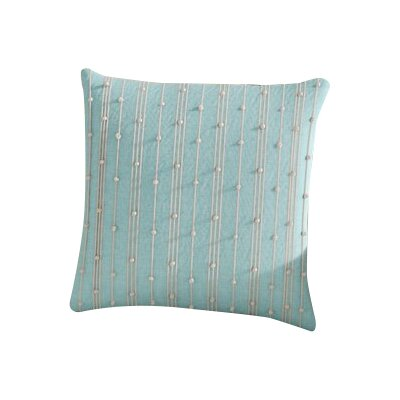 Bilbie Square 100% Cotton Pillow Cover Size: 18 H x 18 W, Color: Light Blue